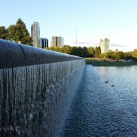 Photo taken at Bellevue Downtown Park by ratish k. on 6/1/2013