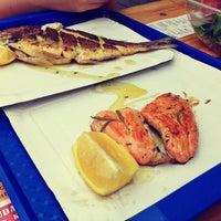 Photo taken at Budaörsi Halpiac - The Fishmonger by tepettvarnyu on 7/20/2013