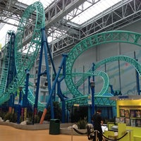 Photo taken at Nickelodeon Universe® by Poline M. on 12/20/2012