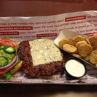 Photo taken at Smashburger by Justin D. on 10/30/2012