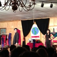 Photo taken at Sleuths Mystery Dinner Shows by Melanie A. on 5/25/2013