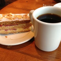 Photo taken at la Madeleine Country French Café by Chris W. on 4/6/2013
