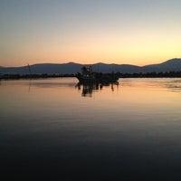 Photo taken at Akkum Liman, Ozbek Koyu by Sezin on 10/3/2012