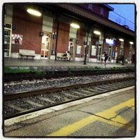 Photo taken at Stazione Giulianova by Antonella F. on 7/16/2013