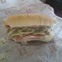 Photo taken at Jimmy John's by Chris M. on 10/19/2012