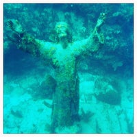 Photo taken at Christ of the Deep by Matt F. on 7/12/2013