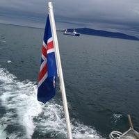 Photo taken at Elding Whale Watching by Nyusya P. on 6/25/2013