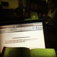 Photo taken at Biblioteca Juan Bosch FUNGLODE by José G. C. on 8/4/2013
