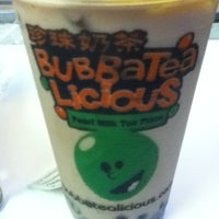 Photo taken at BubbaTeaLicious Pearl Milk Tea Place by GelM 👠💄👜👡 on 10/20/2012