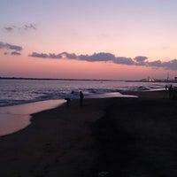 Photo taken at Kollam Beach by Oommen J. on 5/16/2014