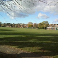 Photo taken at Dundonald Recreation Ground by Nik P. on 11/8/2012