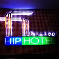 Photo taken at Baramee Hip Hotel Phuket by Katia S. on 1/12/2013
