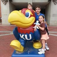 Photo taken at Kansas Union by Zena W. on 10/21/2012