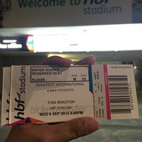 Photo taken at HBF Stadium by Lorena R. on 9/9/2015