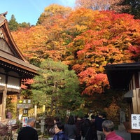 Photo taken at 釈迦山 百済寺 by きたっかぜ on 11/21/2014