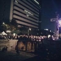 Photo taken at 광통교 by 호주 on 9/7/2013