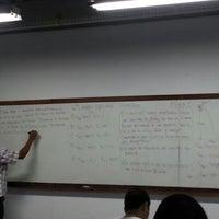 Photo taken at Universidade Moacyr Sreder Bastos (UniMsb) by Eder C. on 10/29/2012