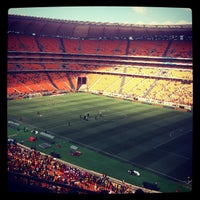 Photo taken at FNB Stadium by Neo D. on 3/9/2013
