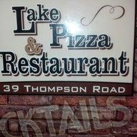 Photo taken at Lake Pizza by Kirsten W. on 10/16/2012