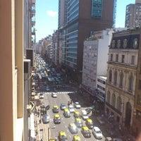 Photo taken at Avenida Corrientes by Diego J. on 11/8/2012