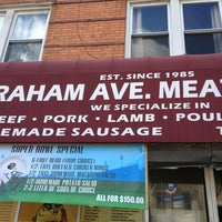 Photo taken at Graham Avenue Meats and Deli by AndresT5 on 1/31/2013