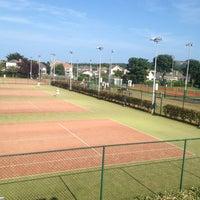 Photo taken at Sutton Lawn Tennis Club by Karen C. on 7/21/2013