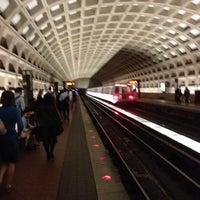 Photo taken at Pentagon City Metro Station by Jon S. on 6/10/2013