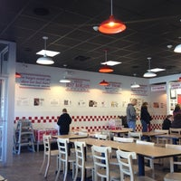 Photo taken at Five Guys by Laura M. on 10/13/2012