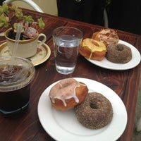 Photo taken at Dynamo Donut & Coffee by Elly H. on 1/5/2013