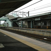 Photo taken at Yōkaichiba Station by littleneek on 5/30/2013