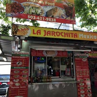 Photo taken at La Jarochita Mexican by littleneek on 7/29/2014