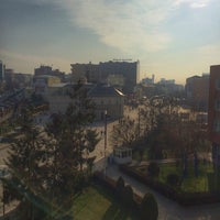 Photo taken at Kuvendi I Kosovës by Rrona A. on 1/29/2015