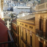 Photo taken at Hostal Atenas Granada by Antonio R. on 1/2/2015