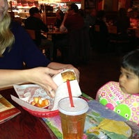 Photo taken at Red Robin Gourmet Burgers by Aleksei K. on 1/10/2013
