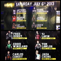 Photo taken at UFC Fan Expo by instagram: @OfficialJadaCheng on 7/6/2013