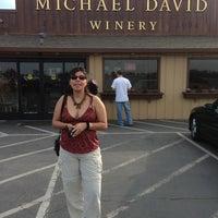 Photo taken at Michael David Winery by Jose R. on 2/16/2013