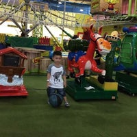 Photo taken at Lollipop's Playland & Cafe by ade M. on 3/24/2015