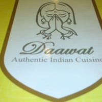 Photo taken at Daawat Authentic Indian Cuisine (HALAL) by Ravi C. on 4/20/2013