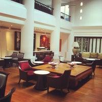 Photo taken at Krungsri River Hotel by Naran N. on 11/1/2012
