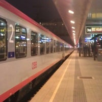 Photo taken at Klagenfurt Hauptbahnhof by Gerhard L. on 10/6/2012