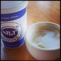 Photo taken at Spot Coffee Delaware Cafe by Nathan R. on 10/9/2013