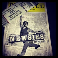 Photo taken at Nederlander Theatre by Kelsey V. on 2/27/2013