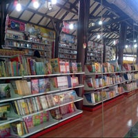 Photo taken at Togamas Bookstore by Bagus T. on 10/30/2012