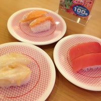 Photo taken at かっぱ寿司 十日町店 by カズミン on 1/23/2013