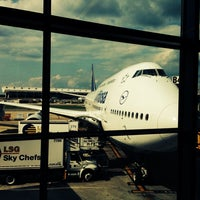 Photo taken at Lufthansa Flight LH 419 by Lukas on 6/22/2014