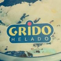Photo taken at Grido by La Plata S. on 1/20/2013