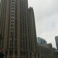 Photo taken at Tribune Tower by Marcus on 7/30/2016