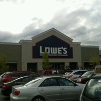 Photo taken at Lowe's Home Improvement by Steven D. on 10/20/2012
