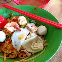 Photo taken at 132 Traditional Teochew Noodle by JK on 6/11/2013