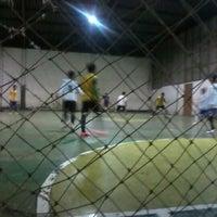 Photo taken at Palur Futsal by Lucman P. on 12/28/2012